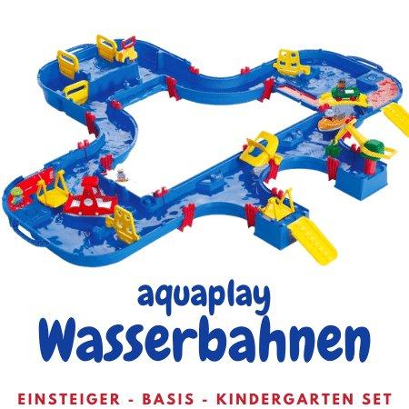 Aquaplay Wasserbahnen